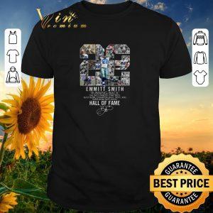 Original 22 Emmitt Smith Running Back Dallas Cowboys Hall Of Fame shirt sweater