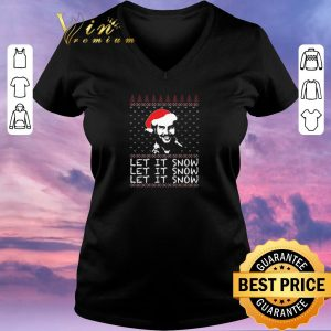 Original Pablo Escobar let it Snow Christmas shirt sweater