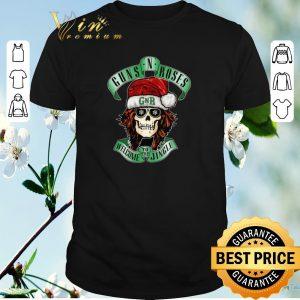 Original Skull Santa Guns N Roses GNR welcome to the Jingle shirt sweater