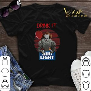 Pennywise drink IT Bud Light shirt sweater
