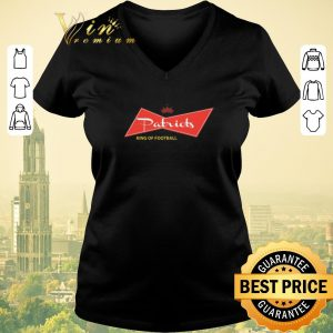 Premium King of football Budweiser Patriots shirt