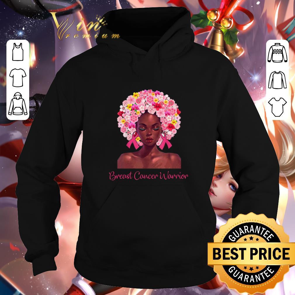 Pretty Black girl Pink Breast Cancer Warrior shirt 4 - Pretty Black girl Pink Breast Cancer Warrior shirt