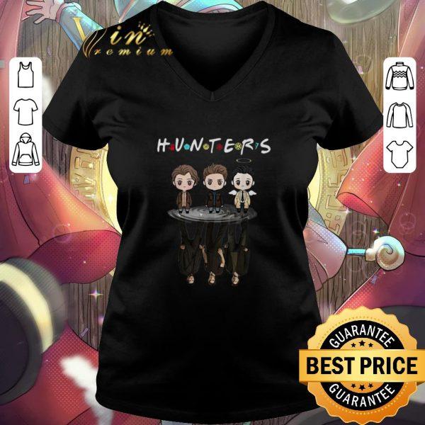Pretty Hunters Supernatural reflection mirror water Friends shirt