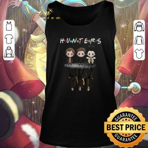 Pretty Hunters Supernatural reflection mirror water Friends shirt 2