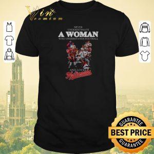 Pretty Never understand a woman who understands Washington Nationals shirt sweater