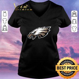 Pretty Philadelphia Eagles leopard layer shirt sweater