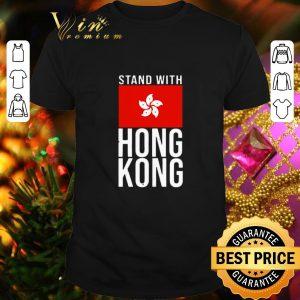 Pretty Stand with Hong Kong flag shirt