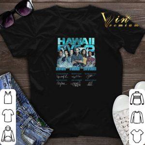 Signatures Hawaii Five-0 2010-2019 9 Seasons 218 Episodes shirt
