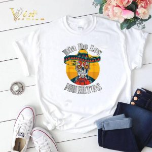 Skull Dia De Los Muertos Day Of The Dead shirt sweater