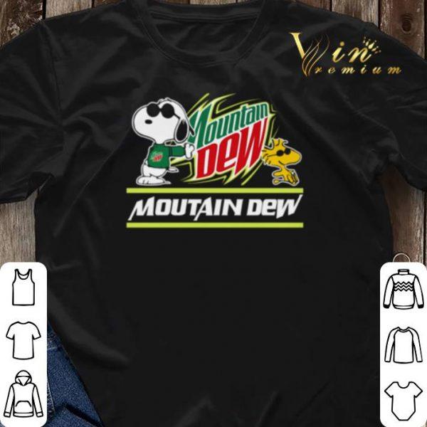 Snoopy Woodstock Mountain Dew Peanuts shirt sweater
