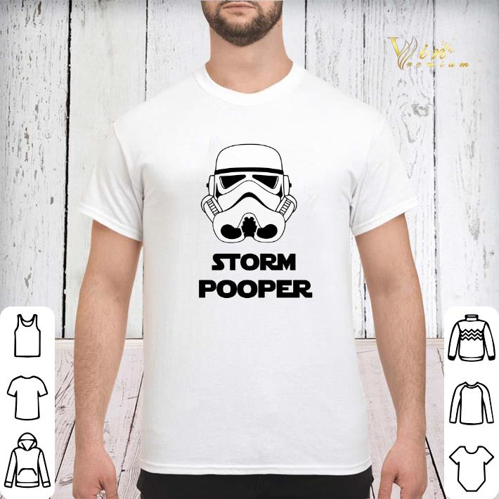 Camiseta Manga Larga Storm Pooper Funny Storm Trooper Star War long sleeve shirt