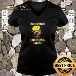 Top Iron Maiden Valentino Rossi 46 shirt sweater