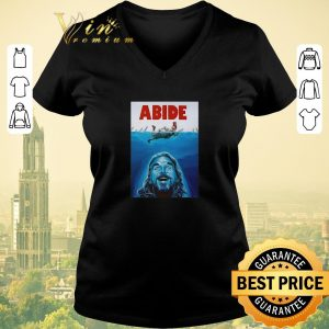 Top The Big Lebowski Abide Jaws shirt sweater