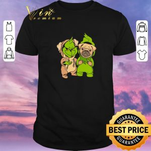 Awesome Baby Grinch and Pug dog shirt sweater