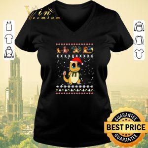 Awesome Christmas Charmander Pokemon Ugly shirt