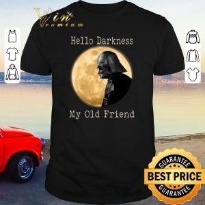 Awesome Darth Vader moon Hello darkness my old friend shirt sweater
