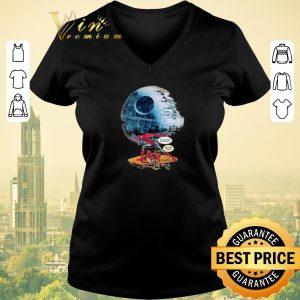 Awesome Death Star Spiderman a little help please nah I'm good Deadpool shirt sweater