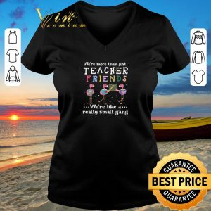 Awesome Flamingos we're more than just teacher friends we're like a shirt sweater 2019