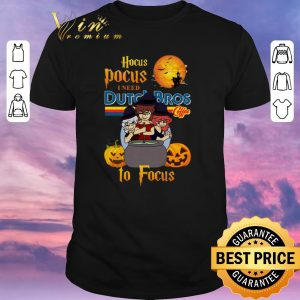 Awesome Hocus Pocus i need Dutch Bros coffee to focus shirt sweater