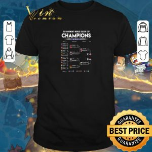 Awesome List 2019 Women's World Soccer Cup Champions United States shirt sweater 2019