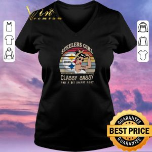 Awesome Pittsburgh Steelers girl classy sassy and a bit smart assy shirt sweater