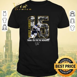 Awesome Signature 15 Robby Fabbri Thank You For The Memories shirt