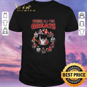 Awesome Signatures San Francisco 49ers all-time greats shirt
