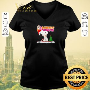 Awesome Snoopy drink Dunkin' Donuts Christmas shirt sweater