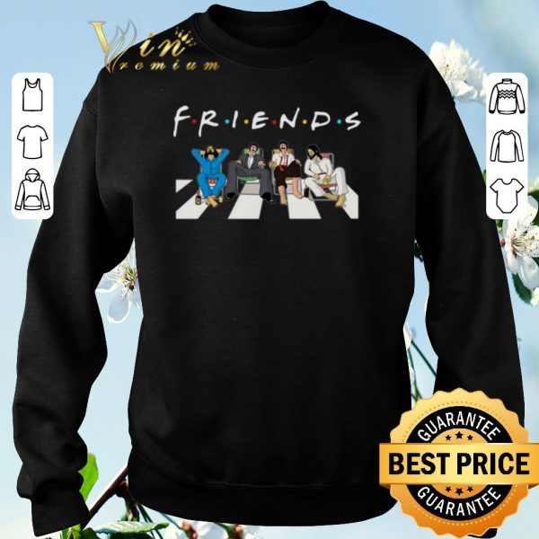 Awesome The Beatles Abbey Road Friends shirt