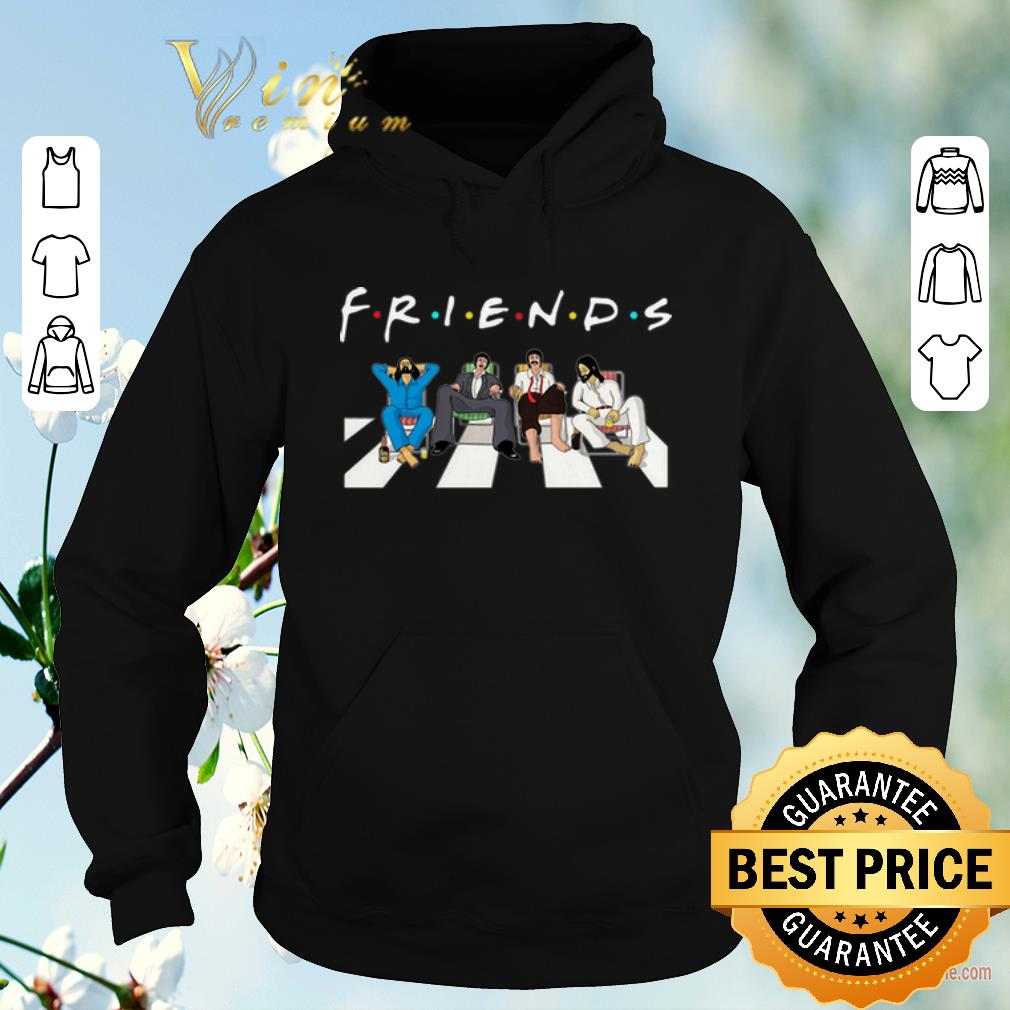 Awesome The Beatles Abbey Road Friends shirt 4 - Awesome The Beatles Abbey Road Friends shirt
