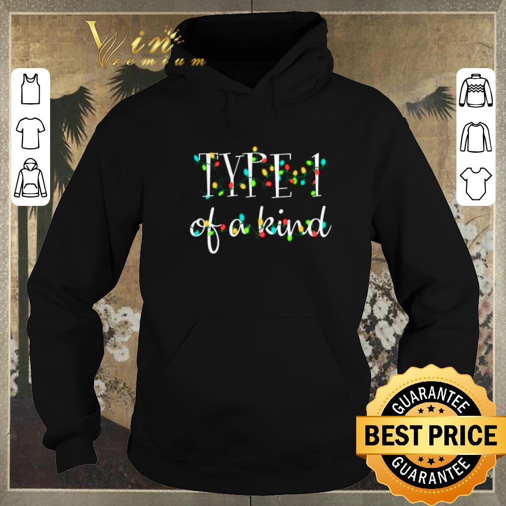 Awesome Type 1 of a kind Christmas lights shirt sweater 4 - Awesome Type 1 of a kind Christmas lights shirt sweater