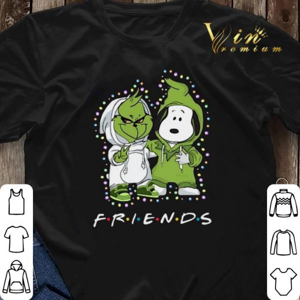Baby Grinch and Snoopy Friends shirt