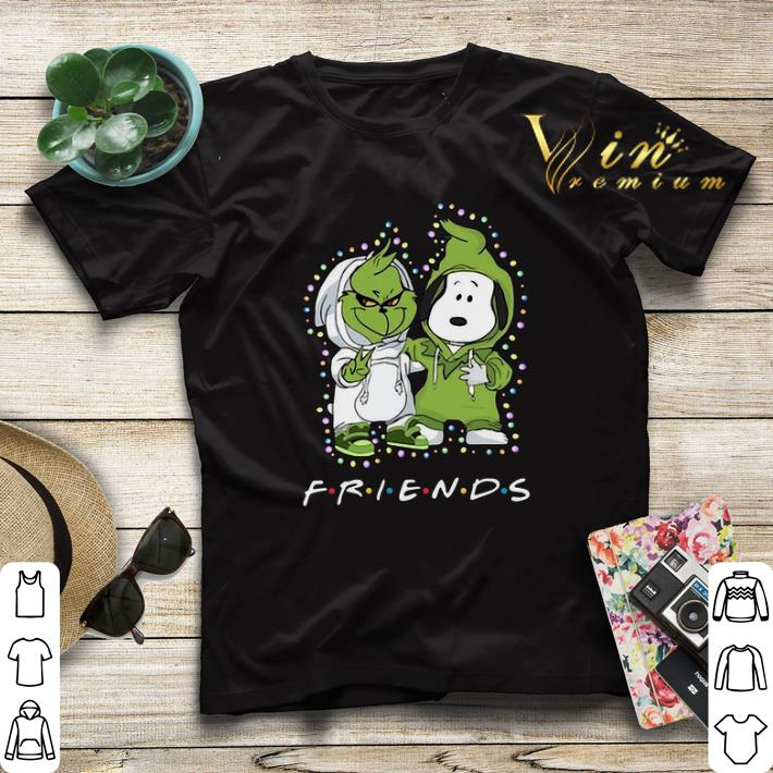 Baby Grinch and Snoopy Friends shirt 4 - Baby Grinch and Snoopy Friends shirt