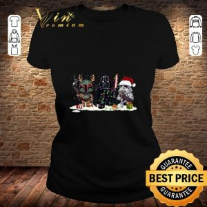 Boba Fett Stormtrooper Darth Vader Star Wars Christmas shirt