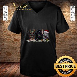Boba Fett Stormtrooper Darth Vader Star Wars Christmas shirt 2