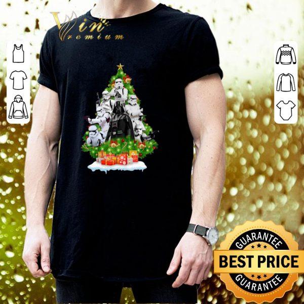 Cheap Darth Vader Stormtrooper Christmas Tree Gift shirt