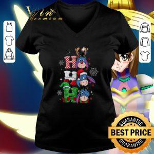 Cheap Eeyore Ho Ho Ho Santa Reindeer Christmas shirt