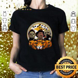 Cheap Horror movie characters Pittsburgh Steelers pumpkin shirt