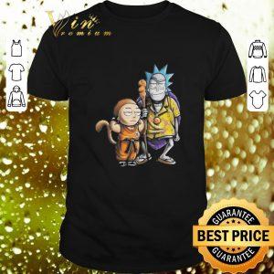Cheap Rick and Morty Dragon Ball Z shirt