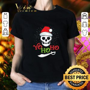 Cheap Skull Yo Ho Ho Pirate Boat Cruise Christmas shirt