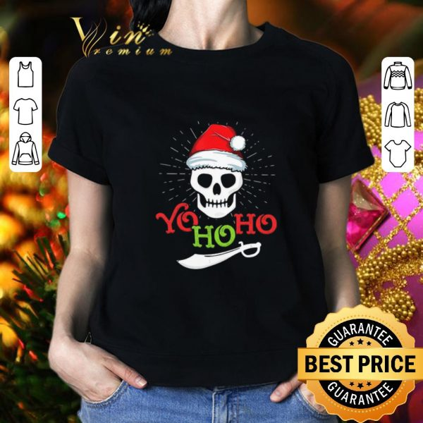 Cheap Skull Yo Ho Ho Pirate Boat Cruise Christmas shirt