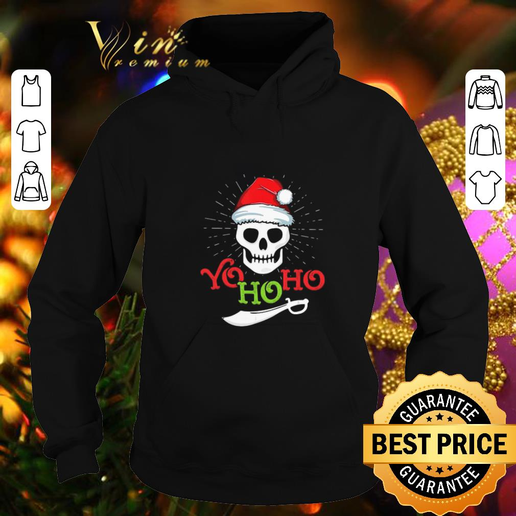 Cheap Skull Yo Ho Ho Pirate Boat Cruise Christmas shirt 4 - Cheap Skull Yo Ho Ho Pirate Boat Cruise Christmas shirt