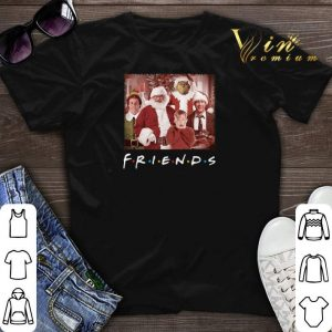 Christmas Friends Grinch Elf Santa Clark Griswold Kevin Characters shirt