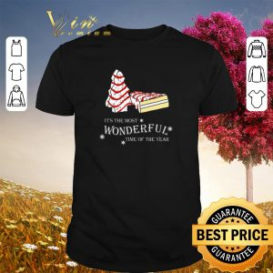 Christmas cake It's the most wonderful time of the year shirt sweater