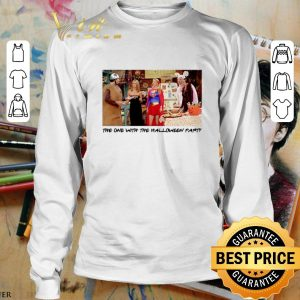 Cool The one with the halloween party Friends TV 2001 shirt 2