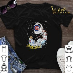 Darth Vader Chicago cubs riding sleigh to the Death Star shirt sweater