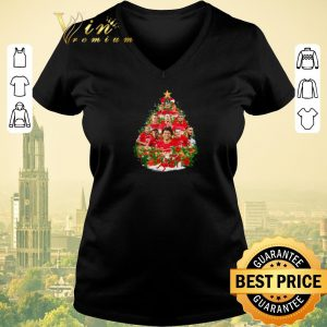 Funny Christmas tree AZ Alkmaar team players shirt