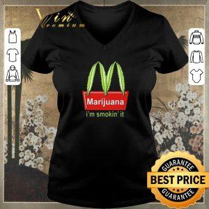 Funny McDonald's Marijuana I'm smokin' it shirt sweater