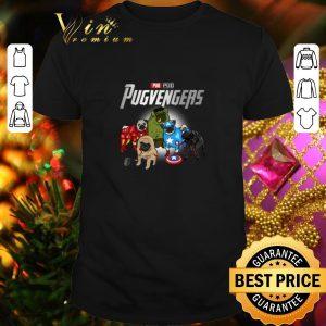 Funny Pug Pugvengers Marvel Avengers shirt