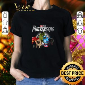 Funny Pug Pugvengers Marvel Avengers shirt 1